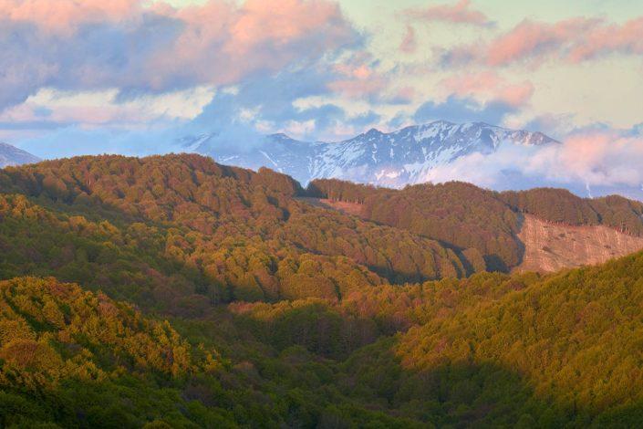 Tramonto di Primavera - Monti Simbruini