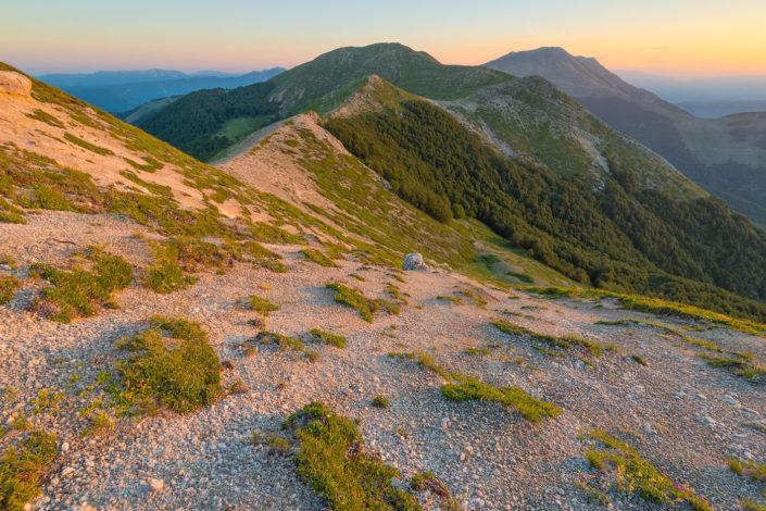 Alba sul Monte Crepacuore - Parco Naturale Regionale dei Monti Simbruini