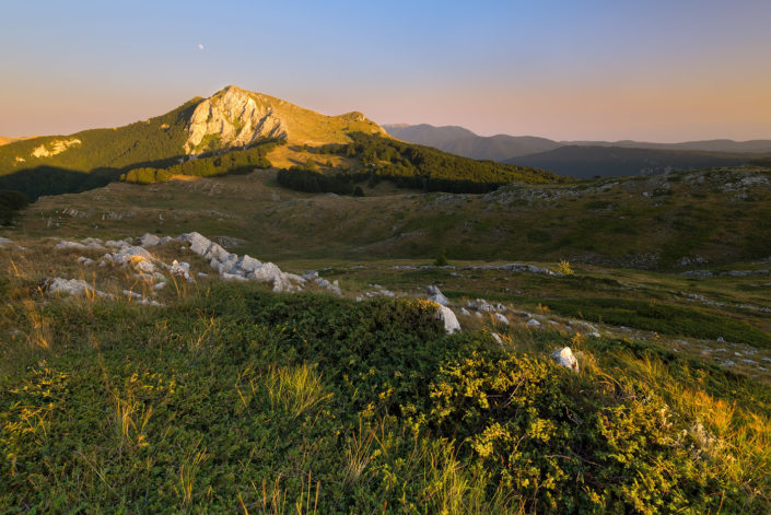 Tramonto sul Monte Tarino - Monti Simbruini
