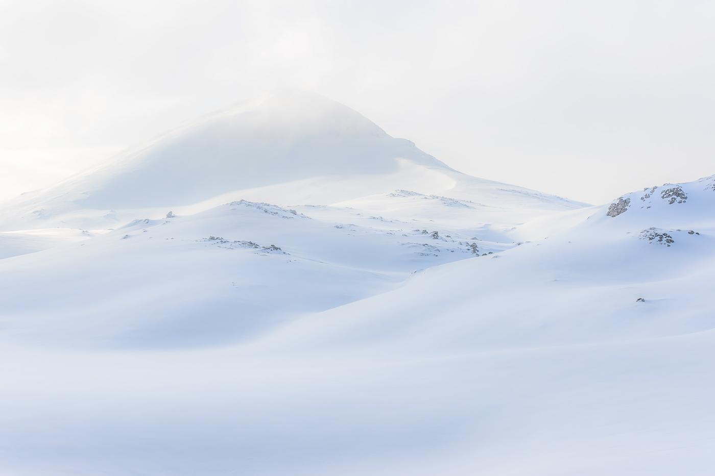 Monte Cotento in inverno - Monti Simbruini